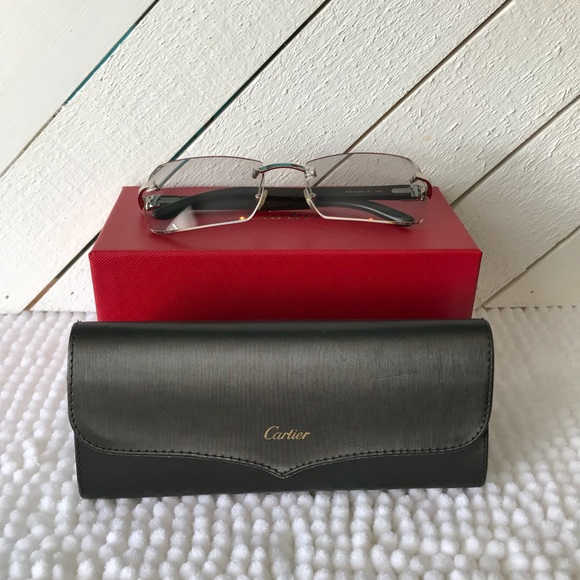 432d6110a4f2 Cartier Other - Authentic Men s Cartier Tinted Eyeglasses
